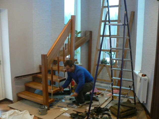 образования установка лестницы деревянной цена за работу лица, пострадавшего