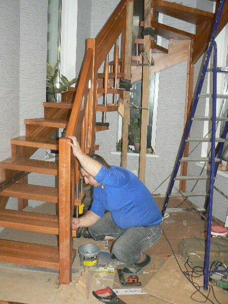 установка лестницы деревянной цена за работу Стамбула: как добраться